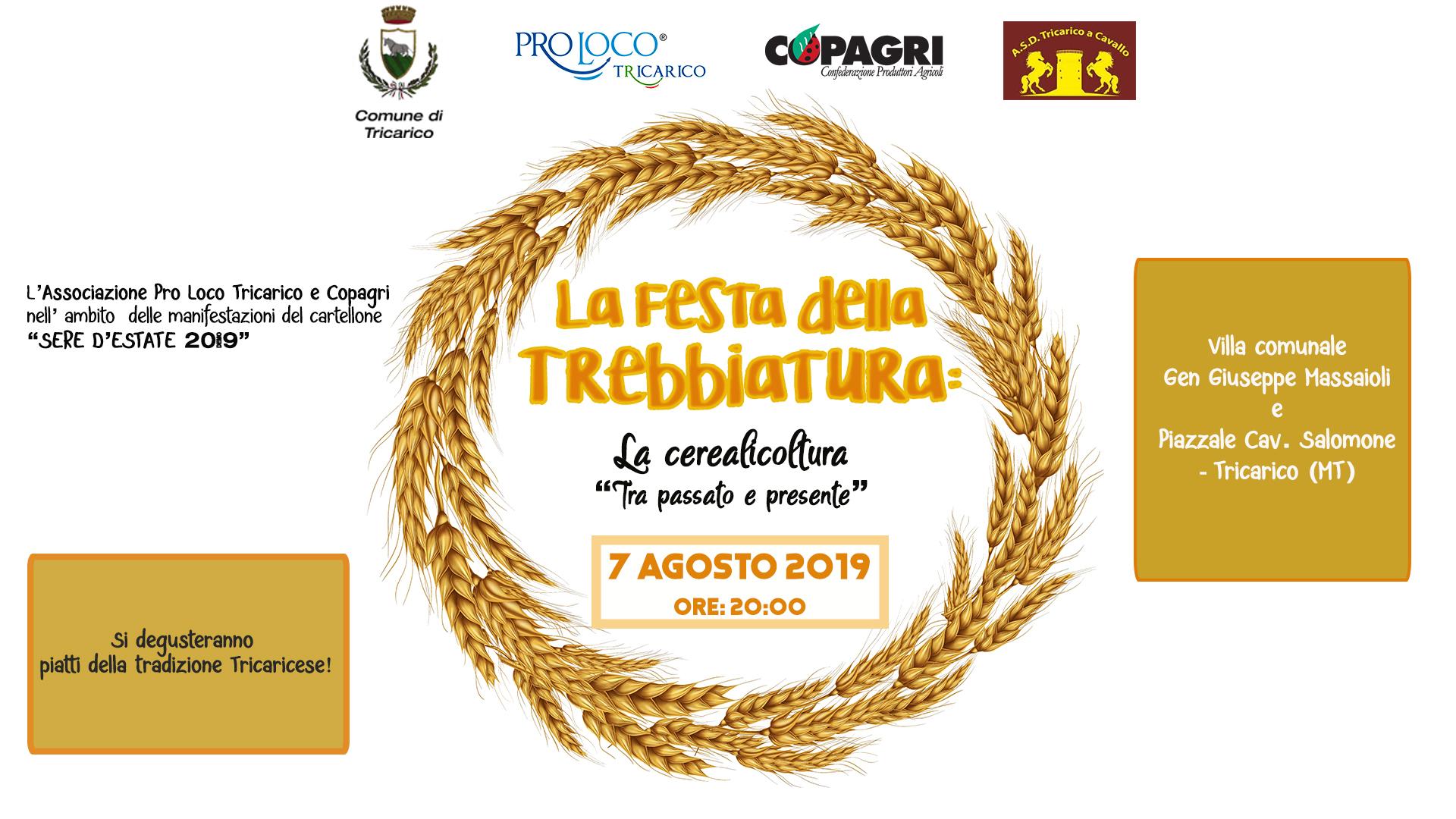 """La Festa della Trebbiatura:La cerealicoltura """"tra Passato e Presente"""""""